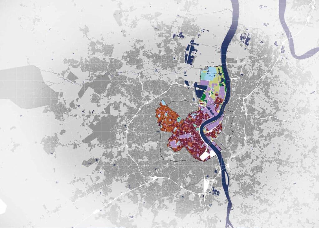 Bordeaux city datamap
