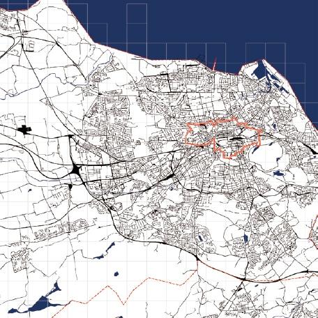 1% Water bodies </br> 5% Transport infrastructure