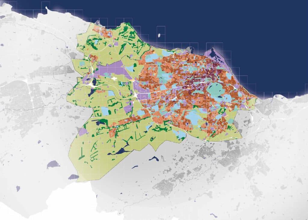 Edinburgh city datamap