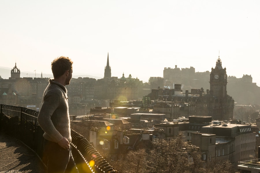 How does Edinburgh put people at the heart of conservation?